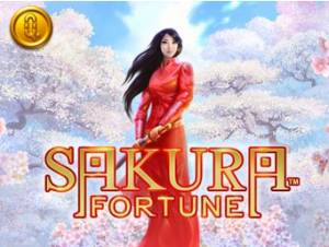 Det asiatiskt inspirerade slotsspelet Sakura Fortune