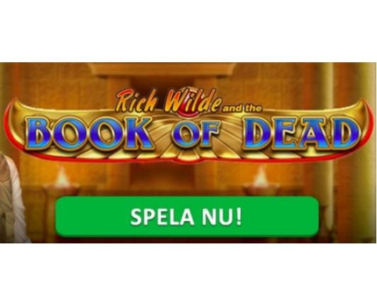 Klicka här och spela Book of Dead på Cashmio nu!