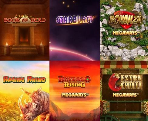 Spela på dussintals olika spelautomater på Casumo Casino!
