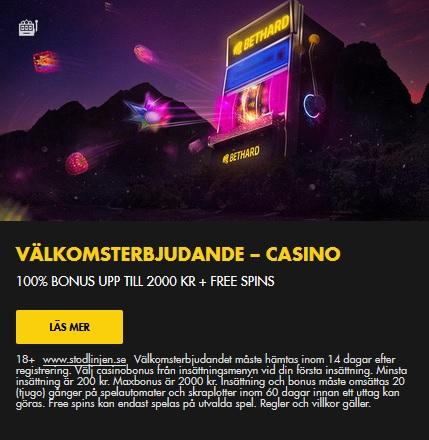 Spela Bonanza slots på Bethard Casino nu!