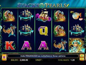Nya slotsspelet Stacks of Pearls!