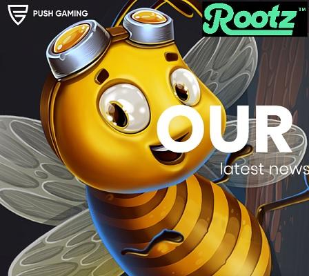 Spelavtal mellan Push Gaming och Rootz Casino!