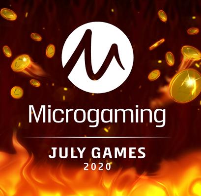 Nya slotsspel från Microgaming i juli 2020!